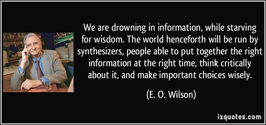 E.O.Wilson om kompleksitet